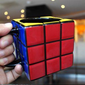 Rubik kocka formájú bögre