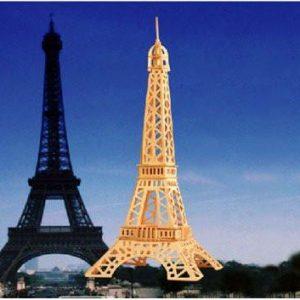 3D Eiffel torony puzzle