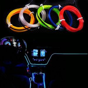 New-2M-EL-Wire-Flexible-Led-Neon-Strip-Cold-Light-Strip-Rope-Tape-12V-Car-Interior
